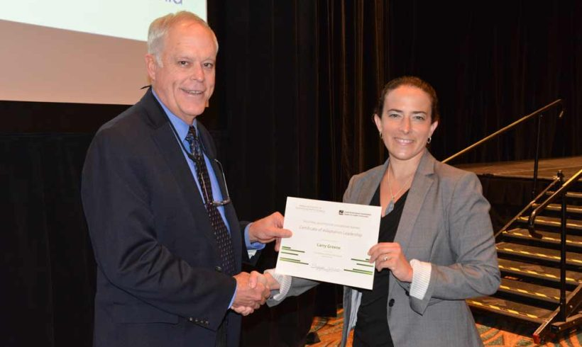 CRC Member Larry Greene Wins Regional Adaptation Leadership Award